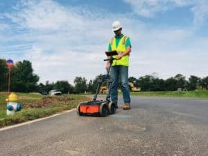 Underground Utility Locating with GPR