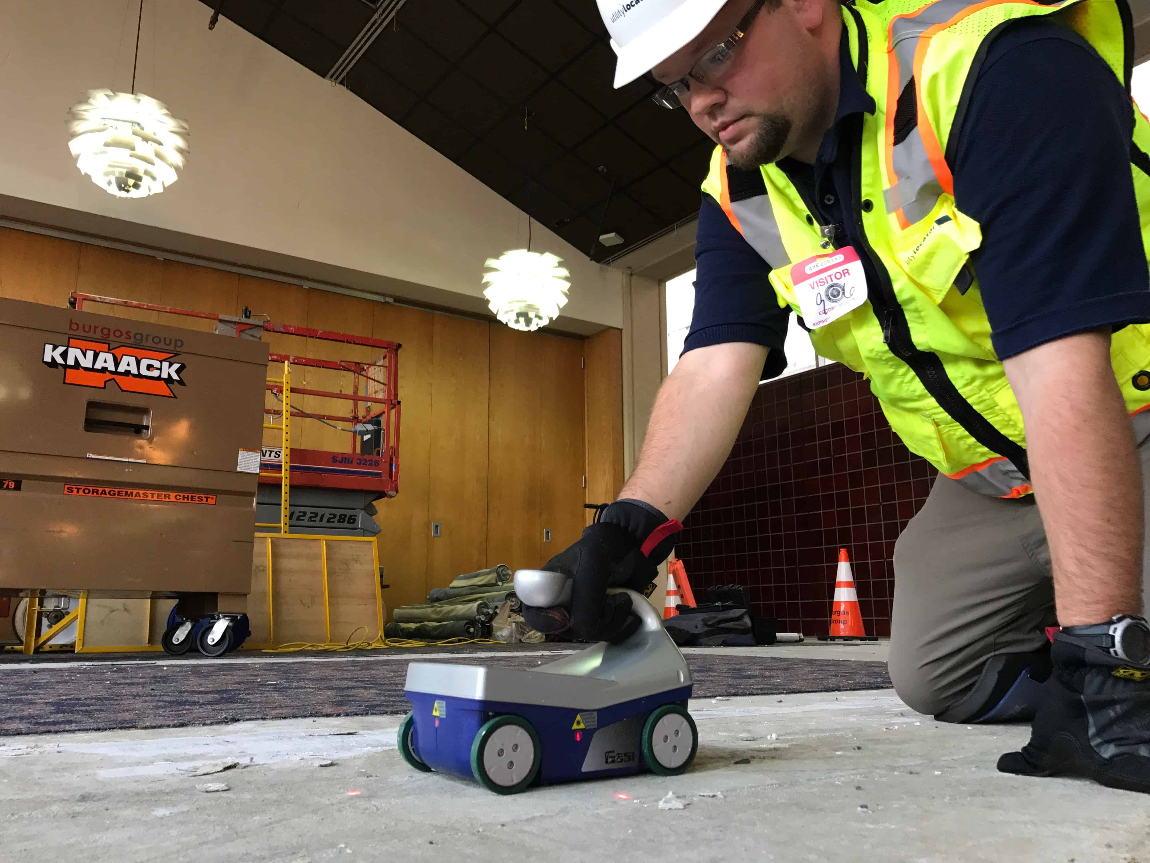 Compare Concrete X-Ray with GPR